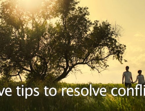 Five Tips to Resolve Conflict